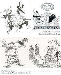 Ottfried Preußler's Räuber Hotzenplotz & die kleine Hexe. Illustriert von Franz. J. Tripp und Winnie Gebhardt-Gayler