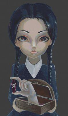 Modern Cross Stitch Kit By Simona Candini by GeckoRouge on Etsy