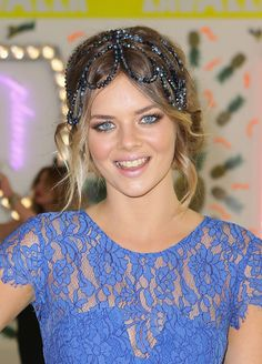 Samara Weaving Headdress - Hair Accessories Lookbook - StyleBistro