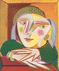 Pablo Picasso - Woman at a Window