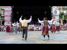 ▶ Bilbao - Aste Nagusia 2010 - Fandangoa eta Arin Arina - YouTube