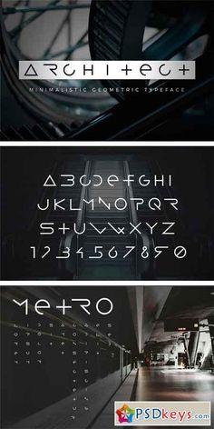 Architect Sans Serif Font 1119873