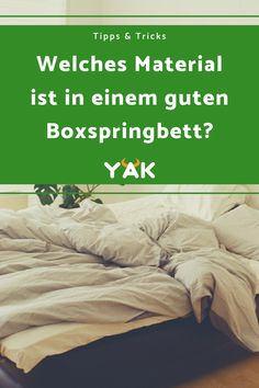 Es gibt einen Unterschied in der Boxspringbett Qualität. Daher gibt es schlechte und gute Boxspringbetten. Lerne, wie du die Unterschiede erkennen kannst. Bed, Bedroom Bed, Mattresses, Beds, Knowledge, Tips, Stream Bed, Bedding