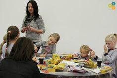 Mała Akademia Dizajnu - listopad 2014, zajęcia edukacyjne dla dzieci.
