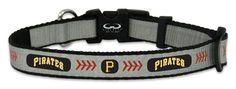 Pittsburgh Pirates Reflective Toy Baseball Collar