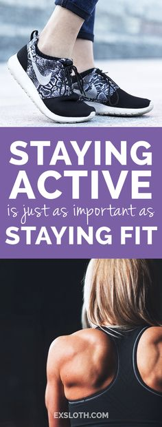 Why staying active is just as important as staying fit - Diary of an ExSloth Strength Training Workouts, Workout Gear, Healthy Life, Healthy Living, Fitness Tips, Health Fitness, Stay Active, Bodybuilding Workouts, Lifestyle Changes