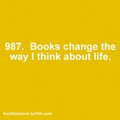 ~ Books Changes the way I Think