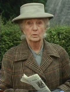 Miss Marple, British Actresses, Agatha Christie, Country Life, Crime, Film, Character, Style, Movie