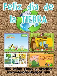 Learning in Spain Teach Me Spanish, Spanish Teaching Resources, Learning Spanish, Teaching Ideas, Elementary Spanish, Spanish Classroom, Earth Day Meme, Dual Language Classroom, Spanish Culture