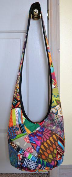 MADE TO ORDER Hobo Bag Crossbody Bag Sling Bag by 2LeftHandz