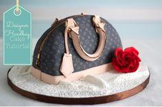 Designer Handbag Cake Tutorial by Make Fabulous Cakes