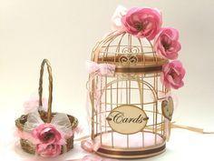 BEREIT Schiff Blumenmädchen Korb /Bird Cage von InspirellaDesign