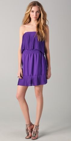 Parker Pleated Dress thestylecure.com