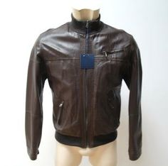 #jacket #man #real #leather