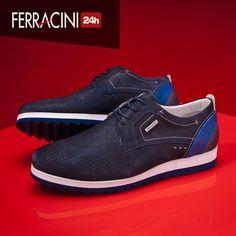 Mais um modelo da linha Fluence, cheio de personalidade e detalhes que agregam estilo em diversos looks! O que acharam? #ferracini24h #shoes #cool #trend #brasil #manshoes