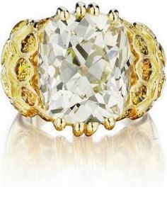René Boivin. An Impressive Diamond Ring.