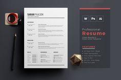 Resume Templates: ThemeDevisers - Professional Resume CV Template