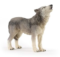 Papo Grey Howling Wolf