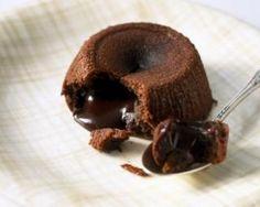 Fondant au chocolat et son d'avoine pour brûler les graisses