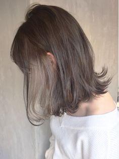 Hidden Hair Color, Two Color Hair, Japanese Hair Color, Hair Inspo, Hair Inspiration, Cabelo Inspo, Medium Hair Styles, Short Hair Styles, Hair Color Underneath