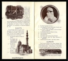 semiramis hotel's promotional booklet