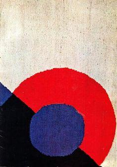 Sonia Delaunay. Tappeti. Milano, Galleria De Nieubourg, 1968. Catalogo di mostra, 12 gennaio - 12 febbraio 1968