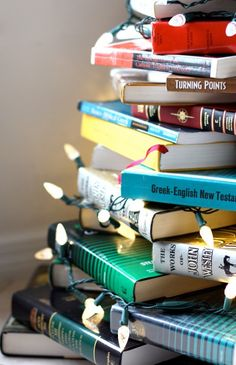 Christmas Tree Of Books | #DIY #Christmas #Tree #Books