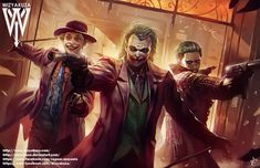 The Jokers by @wizyakuza! by dccomicsunited