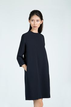 Clean lines, very elegant. Similar to the Merchant and Mills trapeze dress.