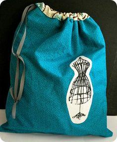 Easy Lined Drawstring Bag