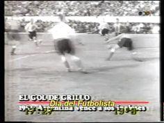 """""""el gol imposible"""" de Ernesto Grillo jugando con la Selección argentina ante Inglaterra en 1953."""