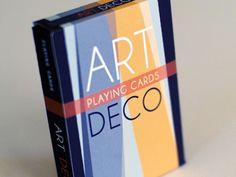 Art Deco Playing Card Box