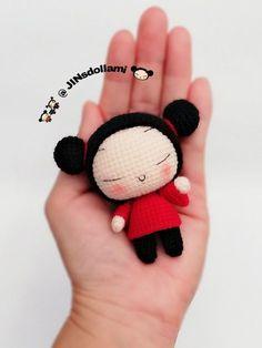 Crochet Animal Patterns, Crochet Doll Pattern, Crochet Patterns Amigurumi, Amigurumi Doll, Crochet Dolls, Doll Patterns, Kawaii Crochet, Crochet Disney, Cute Crochet