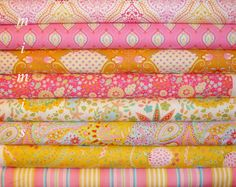 Little Azalea by Dena Designs Fabric / Pink Palette  / 8 by mimis, $38.00