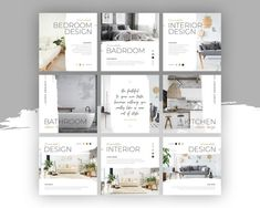 Interior Design Instagram, Interior Design Layout, Instagram Design, Free Instagram, Instagram Posts, Instagram Feed, Social Media Template, Social Media Design, Change Image