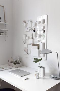 Vitra desk accessories - via Coco Lapine Design blog