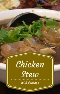 Carla Hall welcomed her former Top Chef co-star, chef and entrepreneur Tiffany Derry to The Chew to make a delicious Chicken and Sausage Stew recipe. http://www.foodus.com/the-chew-tiffany-derry-chicken-and-sausage-stew-recipe/