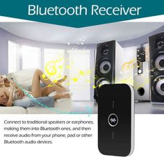 LOT Wireless Bluetooth 2 in1 3.5mm Transmitter and Receiver Stereo Audio Adapter