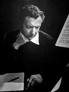 Composer Benjamin Britten.    (22 November 1913 – 4 December 1976) was an English composer, conductor, and pianist; and one of the central figures of 20th century British classical music.