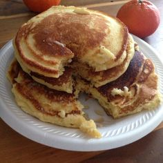 These are my family's favorite pancakes. I modified the directions from the back of a package of corn muffin mix and the results are delicious! Sweet Cornbread, Cornbread Mix, Pancakes Easy, Pancakes And Waffles, Fluffy Pancakes, Cornmeal Pancakes, Brunch Recipes, Breakfast Recipes, Brunch Ideas
