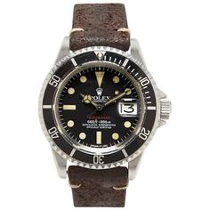 Rolex stainless steel Red Submariner automatic Wristwatch  1