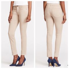 Ann Taylor Tan Pants NWOT/ Like skinny jeans, but they're extremely soft and comfortable / color best shown in 3rd photo Ann Taylor Pants