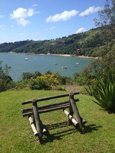 Relax and enjoy the view. Ponta dos Ganchos Resort - SC / Brasil