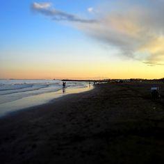 Ca' Savio beach sunset