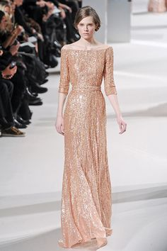 Elie Saab. Love the neckline and sleeves.