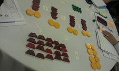 Distributive property using pattern blocks--for reteaching in centers???