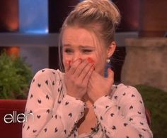 Kristen Bell Sloth interview on Ellen.  One of the best things I've ever seen.