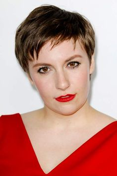 Top 100 Women Short Hairstyles for 2014  Lena Dunham's Short Hairstyle