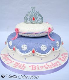 Sofia the First Themed Cake