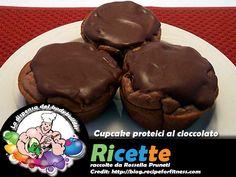 Cupcake proteici al cioccolato